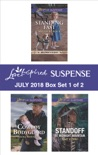 Harlequin Love Inspired Suspense July 2018 - Box Set 1 of 2 book summary, reviews and downlod