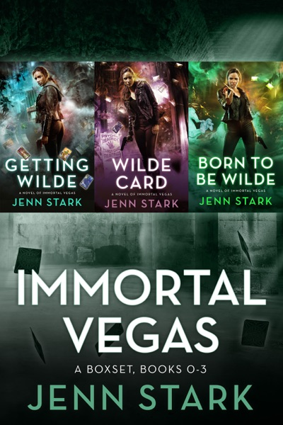 Immortal Vegas Series Box Set Volume 1: Books 0-3 by Jenn Stark Book Summary, Reviews and E-Book Download