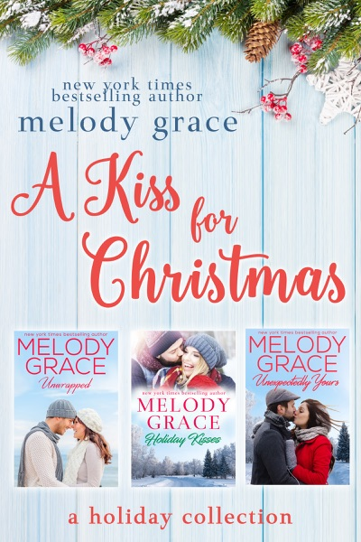 A Kiss for Christmas by Melody Grace Book Summary, Reviews and E-Book Download