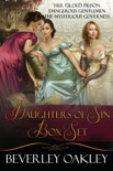 Daughters of Sin Boxed Set: Her Gilded Prison, Dangerous Gentlemen, The Mysterious Governess book summary, reviews and downlod