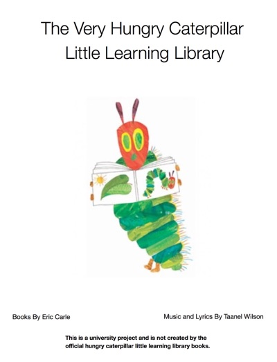 The Very Hungry Caterpillar Library Books 1.1 by Eric Carle Book Summary, Reviews and E-Book Download