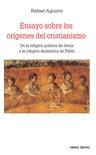 Ensayo sobre los orígenes del cristianismo