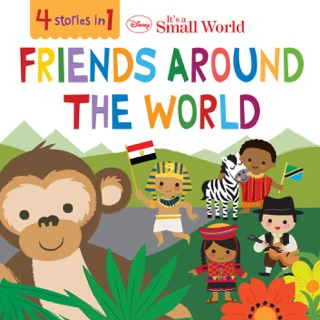 Disney It's A Small World:  Friends Around the World by Disney Books E-Book Download