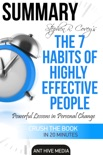 Steven R. Covey's The 7 Habits of Highly Effective People: Powerful Lessons in Personal Change Summary book summary, reviews and downlod