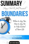 Henry Cloud & John Townsend's Boundaries When to Say Yes, How to Say No to Take Control of Your Life Summary book summary, reviews and downlod