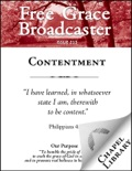 Free Grace Broadcaster - Issue 213 - Contentment
