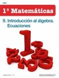 Matemáticas 1ºESO. 9. Introducción al álgebra. Ecuaciones descarga de libros electrónicos