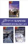 Love Inspired Suspense November 2015 - Box Set 1 of 2 book summary, reviews and downlod
