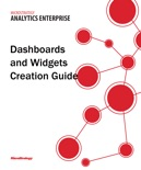 Dashboards and Widgets Creation Guide for MicroStrategy 9.5 book summary, reviews and download