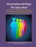 Dissertation Writing: The Easy Way! e-book