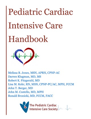 Pediatric Cardiac Intensive Care Handbook textbook download
