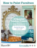 How to Paint Furniture: 19 Upcycled Furniture Projects book summary, reviews and download