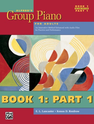 Alfred's Group Piano for Adults, Student Book 1 (2nd Edition): Part 1 textbook download