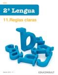 Lengua 2.ESO 11. Reglas claras descarga de libros electrónicos