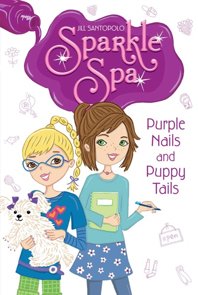 Purple Nails and Puppy Tails by Jill Santopolo Book Summary, Reviews and E-Book Download