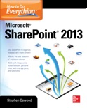 How to Do Everything Microsoft SharePoint 2013 book summary, reviews and download