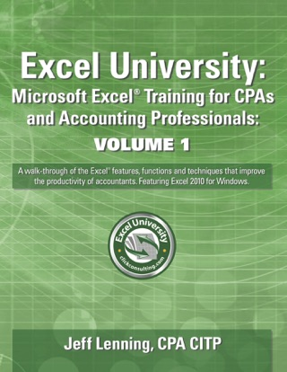 Excel University Volume 1 by Jeff Lenning E-Book Download