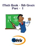 Fifth Grade Math Book Part - I book summary, reviews and downlod