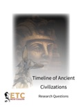 Timeline of Ancient Civilizations Research Questions book summary, reviews and downlod
