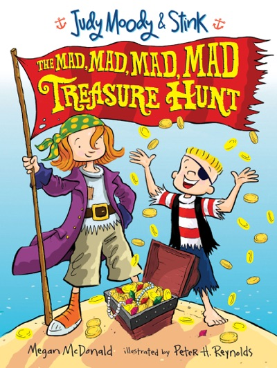 Judy Moody & Stink: The Mad, Mad, Mad, Mad Treasure Hunt by Megan McDonald & Peter H. Reynolds Book Summary, Reviews and E-Book Download