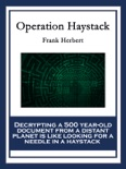 Operation Haystack book summary, reviews and downlod