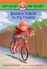 Jessica Finch in Pig Trouble book image