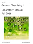 General Chemsitry II Laboratory Manual book summary, reviews and download