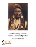 Verbal Analysis - Famous Native American Speeches book summary, reviews and downlod