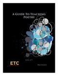 A Guide to Teaching Poetry Level 6-9 book summary, reviews and downlod