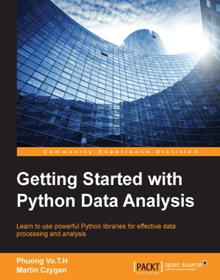 Getting Started with Python Data Analysis by Phuong Vo.T.H & Martin Czygan E-Book Download