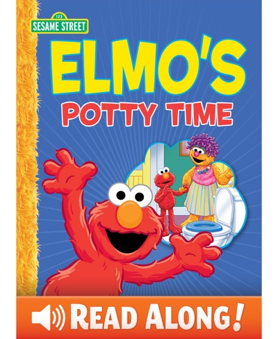 Elmo's Potty Time (Sesame Street Series) by Caleb Burroughs Book Summary, Reviews and E-Book Download