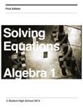 Solving Equations e-book