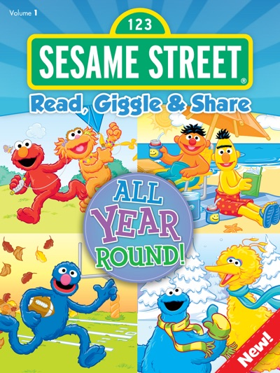 Read, Giggle & Share: All Year Round! (Sesame Street) by Sesame Workshop Book Summary, Reviews and E-Book Download