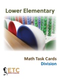 Lower Elementary Math Task Cards - Division book summary, reviews and downlod