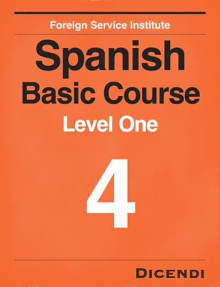 FSI Spanish Basic Course 4 textbook download