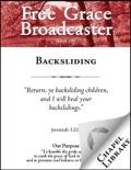 Free Grace Broadcaster - Issue 197 - Backsliding