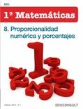 Matemáticas 1ºESO. 8. Proporcionalidad numérica y porcentajes descarga de libros electrónicos