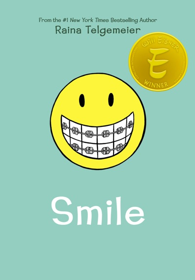 Smile by Raina Telgemeier Book Summary, Reviews and E-Book Download