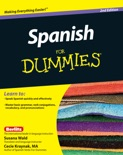 Spanish For Dummies e-book