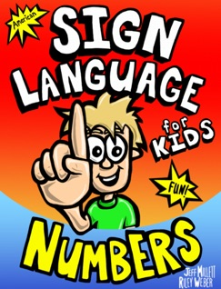 Sign Language for Kids - Numbers E-Book Download