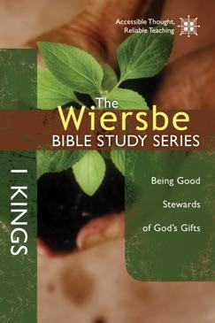 The Wiersbe Bible Study Series: 1 Kings E-Book Download