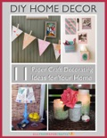 DIY Home Decor-11 Paper Craft Decorating Ideas for Your Home book summary, reviews and download