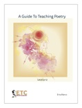 A Guide to Teaching Poetry Level 9-12 book summary, reviews and downlod