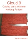 Cloud 9 Wrist Warmer Knitting Pattern book summary, reviews and download