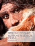Timeline of Early Humans Research Cards book summary, reviews and downlod