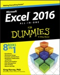 Excel 2016 All-in-One for Dummies book summary, reviews and download