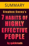 7 Habits of Highly Effective People by Stephen Covey - Summary & Analysis book summary, reviews and downlod