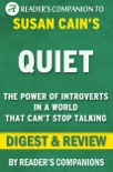 Quiet: The Power of Introverts in a World That Can't Stop Talking by Susan Cain I Digest & Review book summary, reviews and downlod