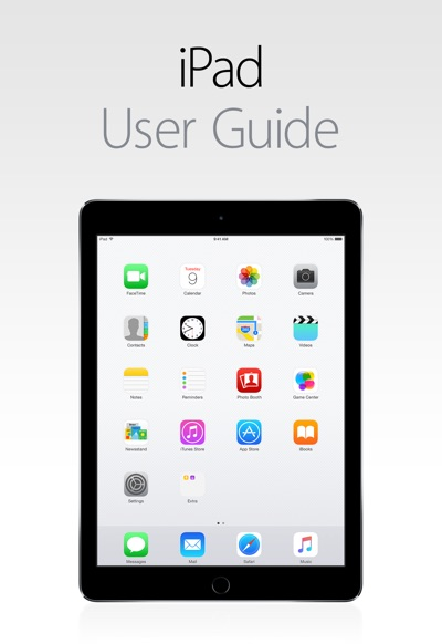 iPad User Guide for iOS 8.4 by Apple Inc. Book Summary, Reviews and E-Book Download