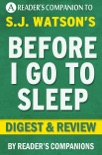 Before I Go to Sleep by S.J. Watson I Digest & Review book summary, reviews and downlod